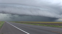 Tornado Supercell Stock Footage