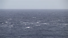 Turbulent seas Stock Footage