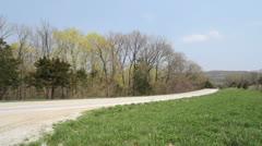 Missouri spring lane c Stock Footage