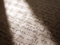 English  handwriting Stock Illustration