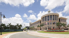 Downtown Doral under expansion - stock footage