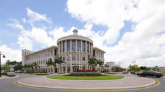 Downtown Doral FL Stock Footage