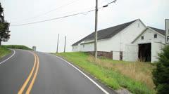 Pennsylvania Corn Fields Stock Footage