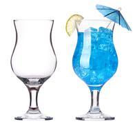 alcoholic cocktail set - stock photo