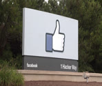 Stock Video Footage of Facebook Headquarters Stock Footage