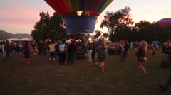 Citrus Classic Balloon Festival Stock Footage