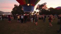 Citrus Classic Balloon Festival Stock Footage