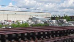 Industrial Yard Stock Footage