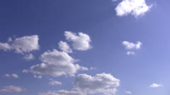 Сlouds on blue sky Stock Footage