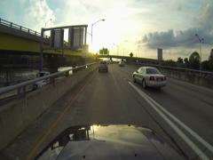 Fort Pitt Bridge Driving 2K Stock Footage