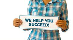 Stock Illustration of we help you succeed