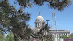 Oklahoma state house s Stock Footage