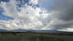 Oregon Clouds over Oregon Mountains time lapse c Stock Footage
