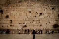 Wailing Wall - Western Wall - Jerusalem Stock Photos