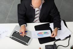 Stock Photo of manager at work
