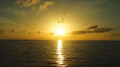 Stock Video Footage of Florida Sunrise Ocean