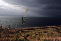 Travel photos of israel - sea of galilee Stock Photos