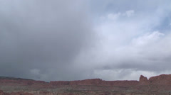 Utah Capitol Reef time lapse p4 Stock Footage