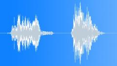 gorilla breathing 001 - sound effect