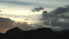 Utah Capitol Reef sunset time lapse p Stock Footage