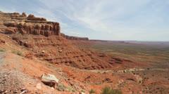 Utah View from Cedar Mesa c4 Stock Footage