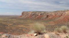 Utah Extensive view from Cedar Mesa c Stock Footage