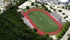 Athletic Stadiums, Sports Arenas, Football, Buildings - stock footage