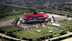Athletic Stadiums, Sports Arenas, Buildings - stock footage