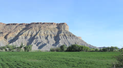 Utah Landscape near Capitol Reef c Stock Footage