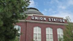Tacoma Pan up Union Station.mp4 Stock Footage