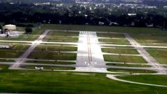 Airport Runway, Flight, Aviation Stock Footage