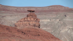 Utah Mexican Hat s1 Stock Footage