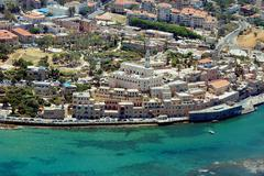 travel photos of israel - jaffa - stock photo