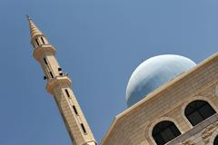 mosques in israel - stock photo