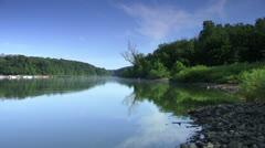 Peacful Lake in the Morning 1080/24p HD Stock Footage