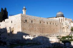 travel photos of israel - jerusalem - stock photo