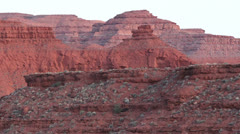 Utah Sandstone at Mexican Hat ct Stock Footage