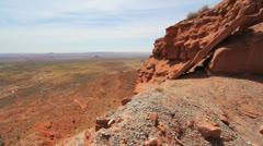 Utah view from Cedar Mesa Stock Footage