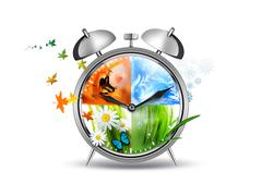 Time concept Stock Illustration