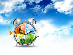 Time concept image Stock Illustration