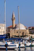 travel photos of israel - acer akko - stock photo