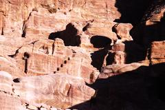 The hashemite kingdom of jordan-petra Stock Photos