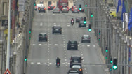 Stock Video Footage of Traffic in Brussels