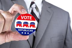republican politician - stock photo