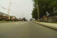 Western Pennsylvania Drive Timelapse NTSC Stock Footage