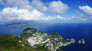 Stock Video Footage of Capri landscape