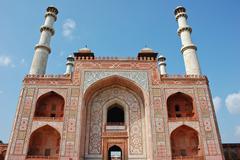 akbar's tomb, india - stock photo