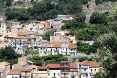 Old Houses, South Italy Stock Photos