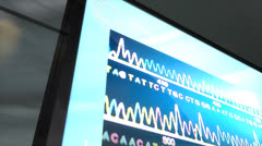 Artist rendering  DNA matching technology. Stock Footage