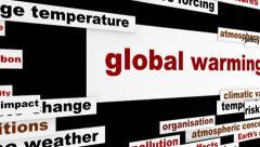 Global warming conceptual hd animation Stock Footage
